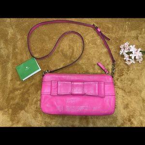 🌸Kate Spade happy pink crossbody purse